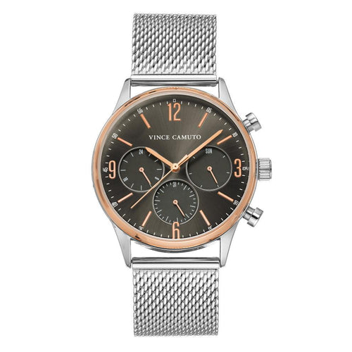 Vince Camuto Silver Mesh Men's Watch - VC1134GYRT