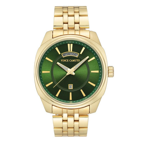 Vince Camuto Gold Steel Men's  Watch - VC1138GRGP