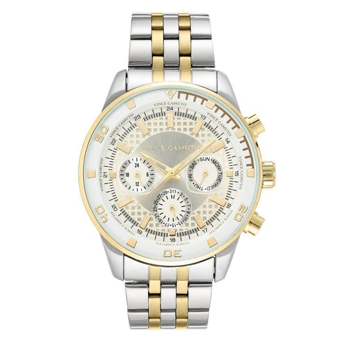 Vince Camuto Two-Tone Steel Men's  Watch - VC1139SVTT