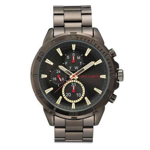 Vince Camuto Gun Steel Men's  Watch - VC1140BKDG