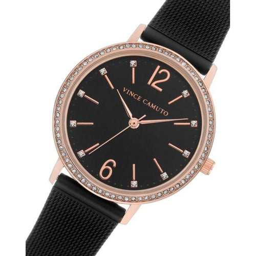 Vince Camuto Black Mesh Ladies Watch - VC5359BKRT