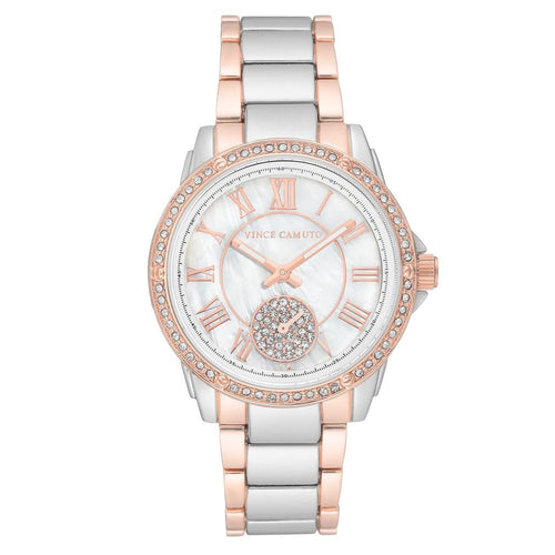 Vince Camuto Two-Tone Steel Ladies Watch - VC5361MPRT