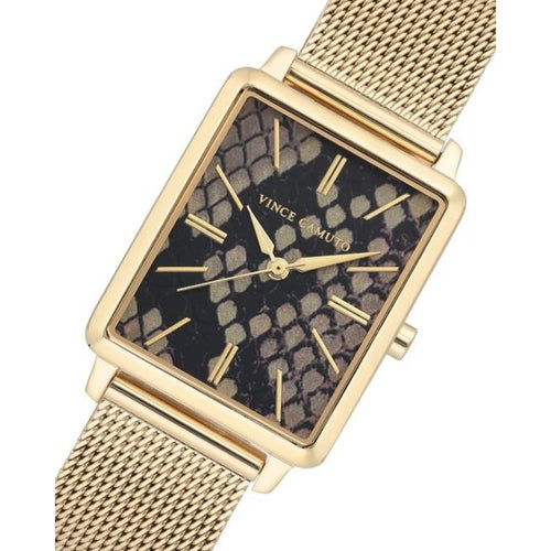 Vince Camuto 3D Printed Dial Ladies Watch - VC5396BKGB