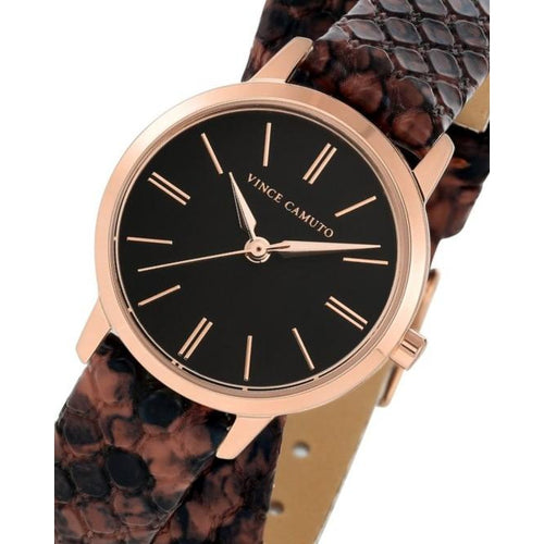 Vince Camuto Vegan Leather Ladies  Watch - VC5398RGBN