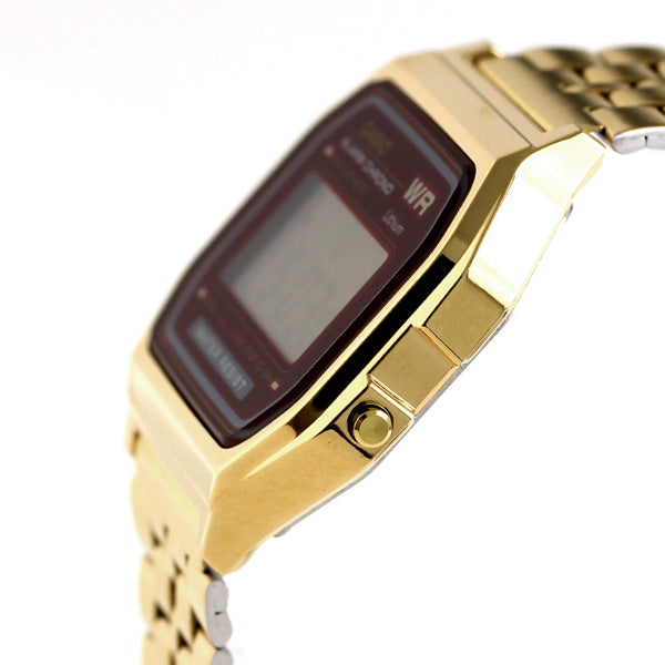 Casio Retro Men's Gold Alarm Chrono Watch - A159WGEA-5DF
