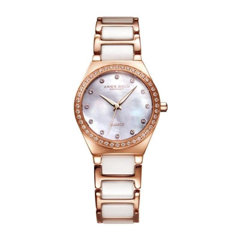 Aries Gold Enchant Women's Watch - L5014Z RG-MOP