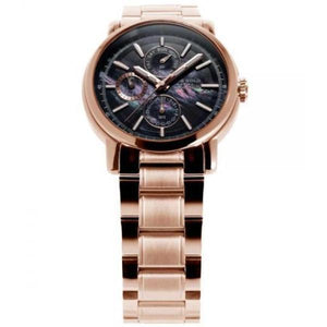Aries Gold Ladies Contender Quartz Watch - B-7302 RG-BKRG