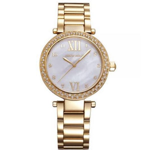 Aries Gold Ladies Enchant Quartz Watch - L-5011G-W-MOP