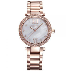 Aries Gold Ladies Enchant Quartz Watch - L-5011RG-W-MOP
