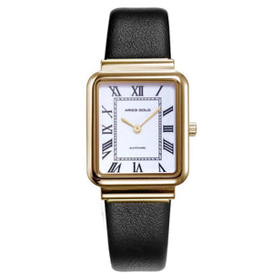 Aries Gold Ladies Enchant Quartz Watch - L-5032Z-G-W-L