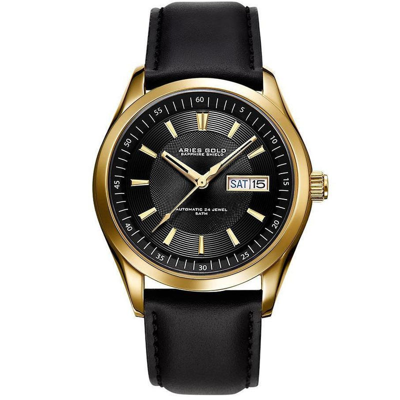 Aries Gold Mens Urban Automatic Watch - G-9004-G-BK