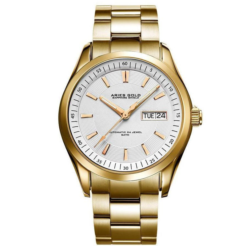Aries Gold Mens Urban Automatic Watch - G-9004-G-W
