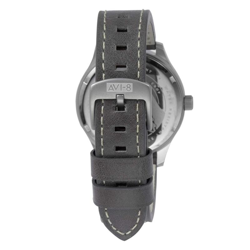 AVI-8 Hawker Hurricane Men's Leathers Watch - AV-4053-03