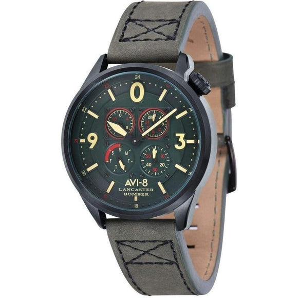 AVI-8 LANCASTER BOMBER Men's Watch - AV-4050-04-The Watch Factory Australia