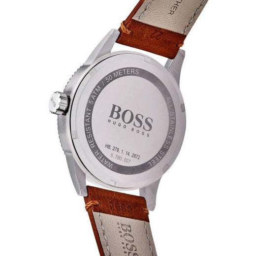 Hugo Boss Pilot Leather Men's Watch  - 1513331