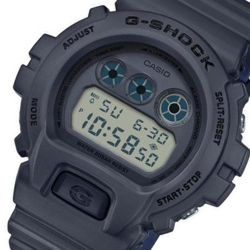 Casio G-SHOCK Men's 50mm Digital Blackout Series Watch - DW6900LU-8D