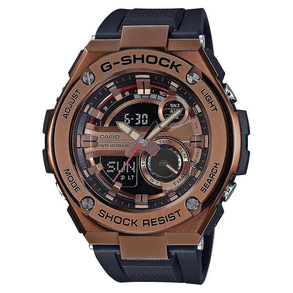 Casio G-SHOCK G-Steel Duo Chrono Watch - GST210B-4A
