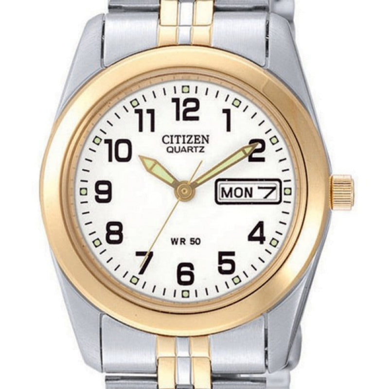 Citizen Ladies Two-Tone Steel Watch - EQ0514-57A