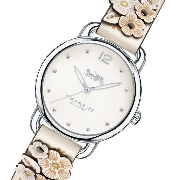 Coach Delancey Chalk Women's Watch - 14502760