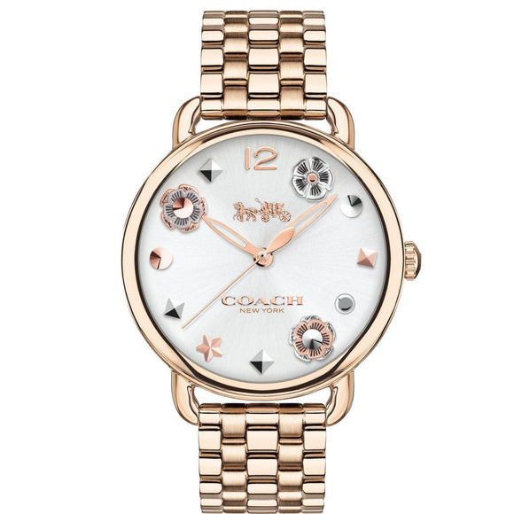 Coach Delancey Gold Quartz Ladies Watch - 14502811-The Watch Factory Australia