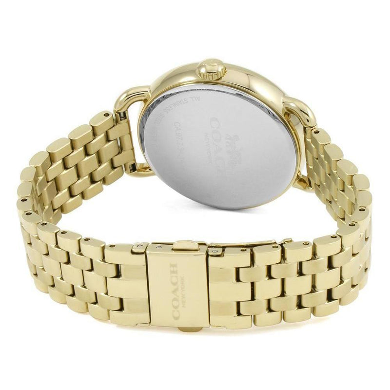 Coach Delancey Gold Tone Women's Watch - 14502813
