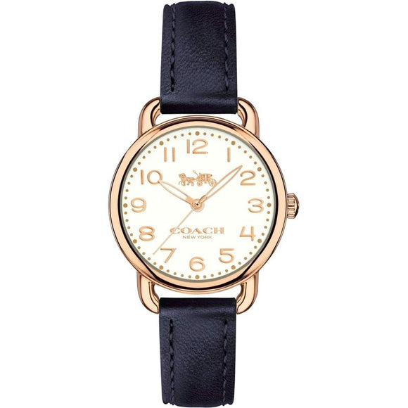 Coach Delancey Leather Ladies Watch - 14502749-The Watch Factory Australia
