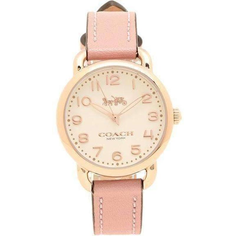 Coach Delancey Leather Ladies Watch - 14502750-The Watch Factory Australia