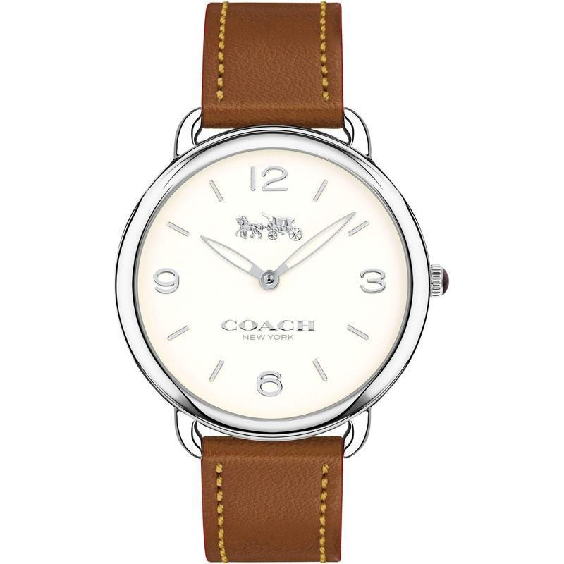 Coach Delancey Leather Ladies Watch - 14502793-The Watch Factory Australia