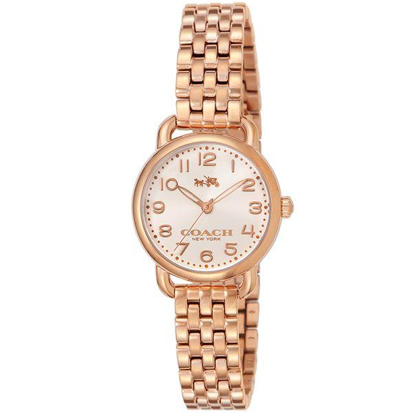 Coach Delancey Rose Gold Ladies Watch - 14502242-The Watch Factory Australia