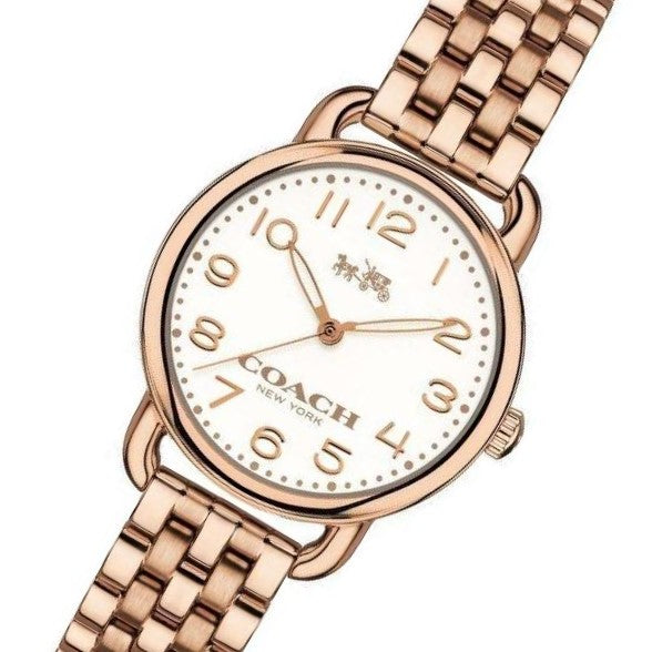 Coach Delancey Rose Gold Ladies Watch - 14502242