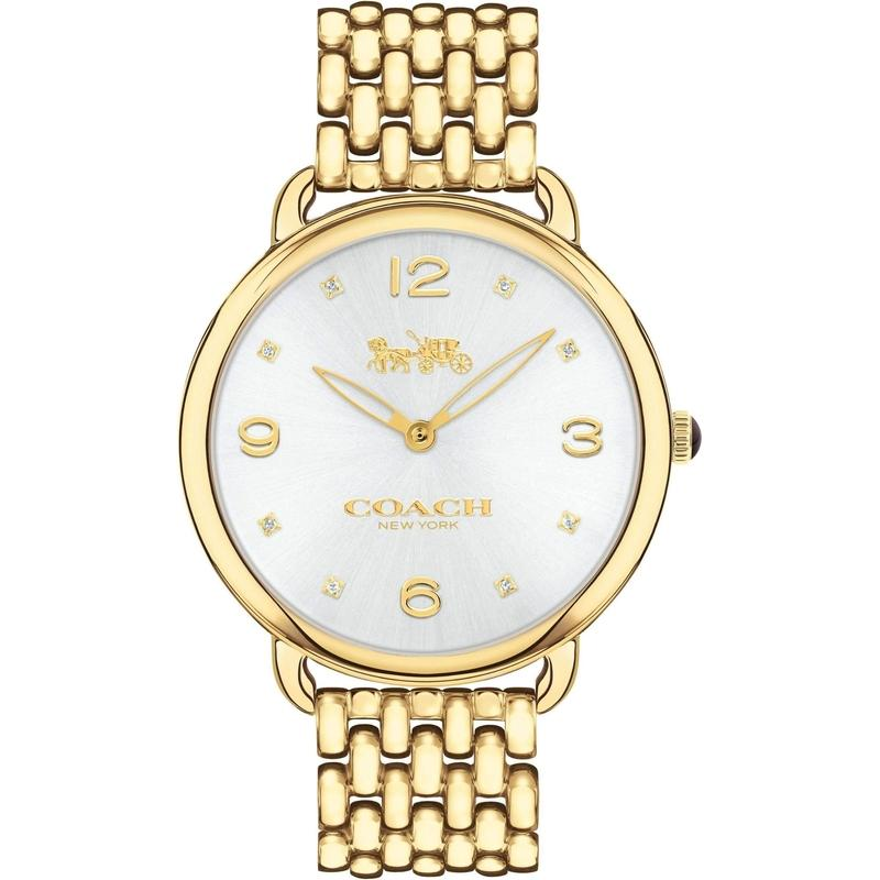 Coach Delancey Stainless Steel Ladies Watch - 14502786-The Watch Factory Australia