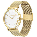 Coach Gold Mesh Ladies Watch - 14503125