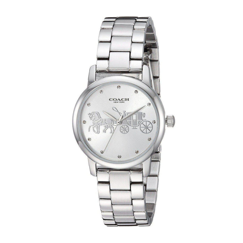 Coach Grand Silver Ladies Watch - 14502975-The Watch Factory Australia