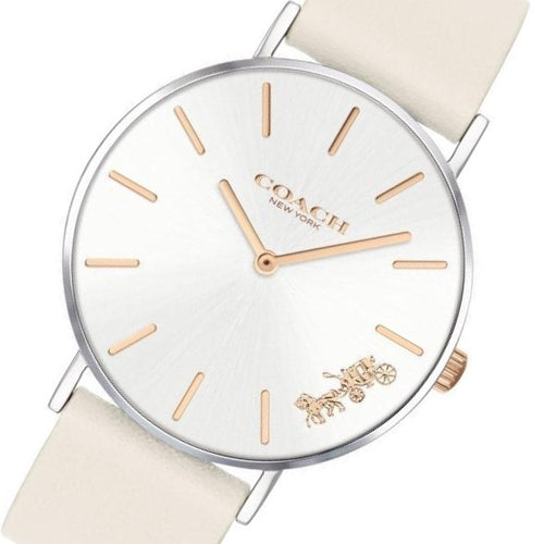 Coach Ladies Beige Perry Watch - 14503117
