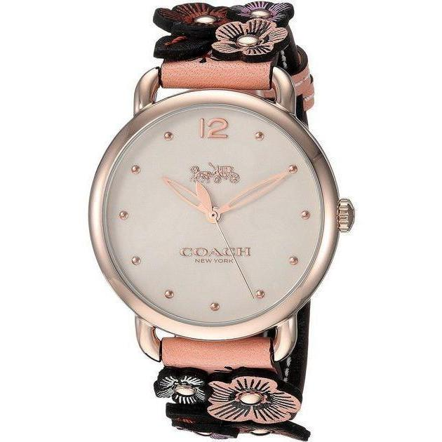 Coach Ladies Delancey Tea Rose Watch - 14502822-The Watch Factory Australia