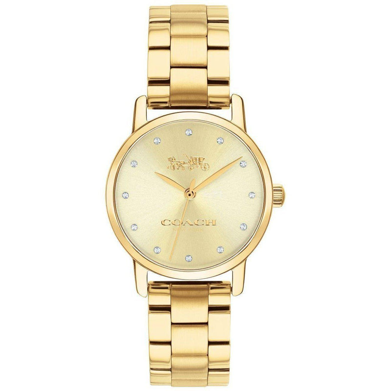 Coach Ladies Grand Watch - 14503002-The Watch Factory Australia