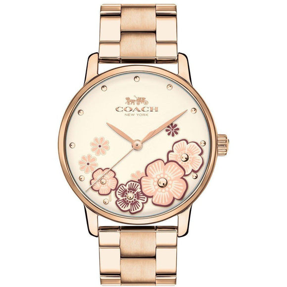 Coach Ladies Grand Watch - 14503007-The Watch Factory Australia