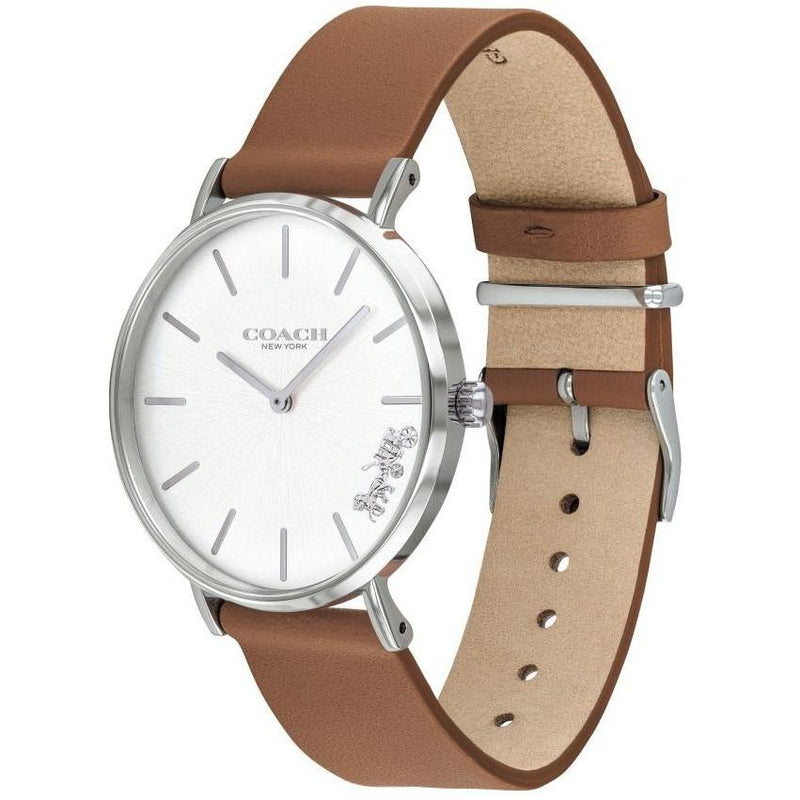 Coach Ladies Tan Perry Watch - 14503120