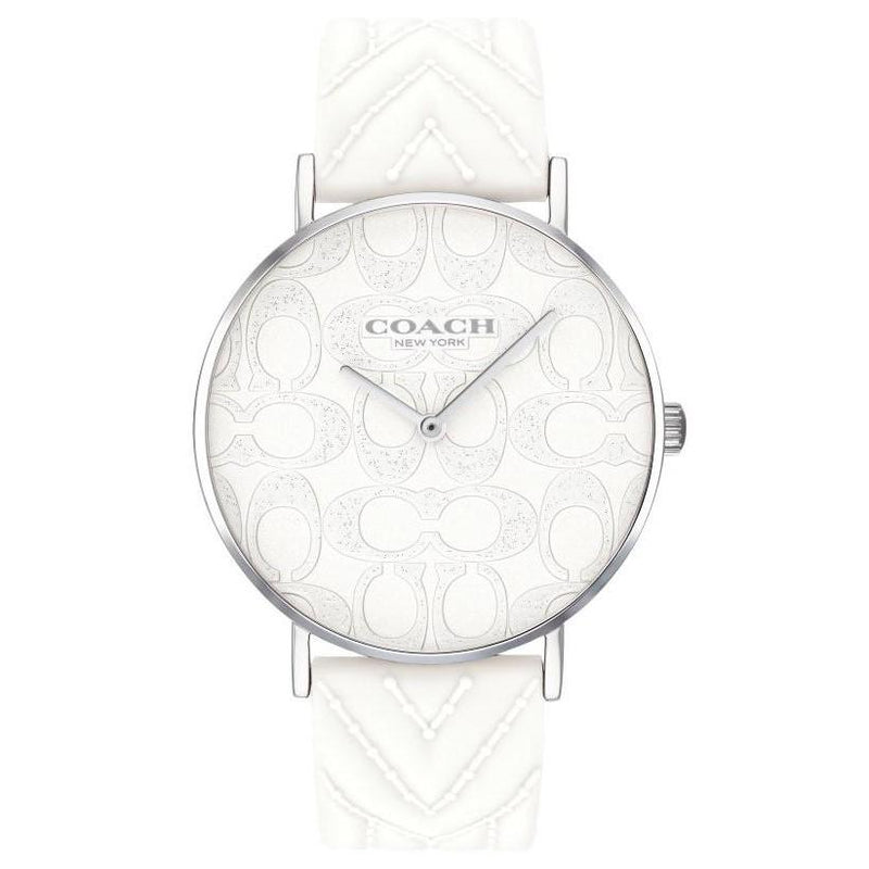 Coach Ladies White Perry Watch - 14503027