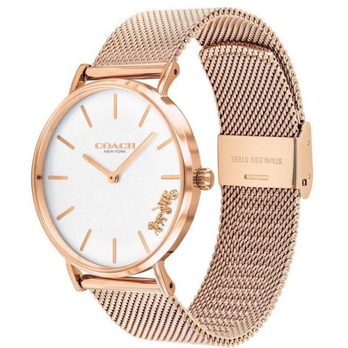 Coach Rose Gold Mesh Ladies Watch - 14503126