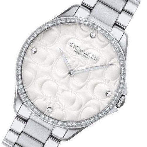 Coach Signature C Dial Ladies Watch - 14503066