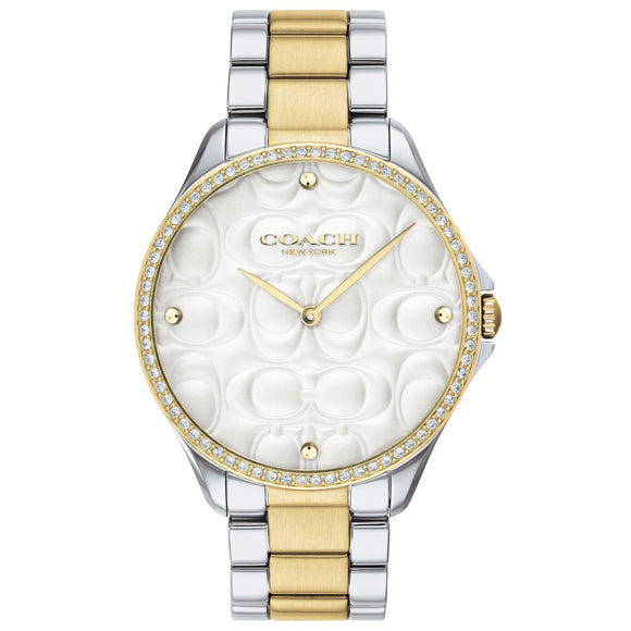 Coach Signature C Dial Ladies Watch - 14503069