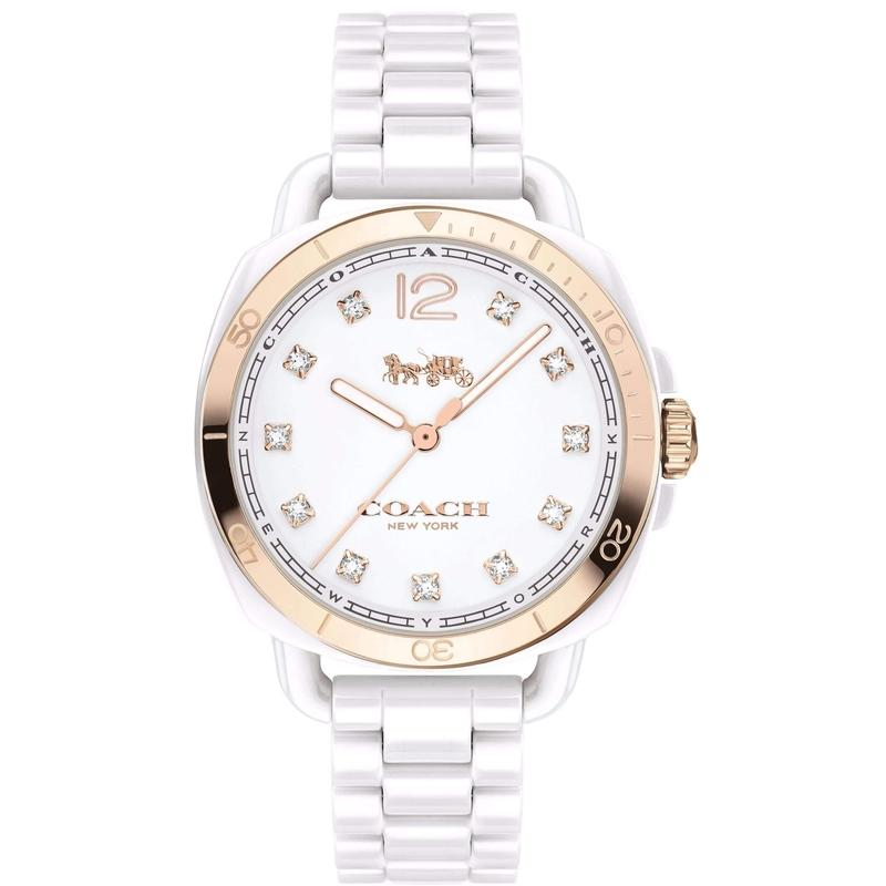 Coach Tatum Ceramic Ladies Watch - 14502752-The Watch Factory Australia