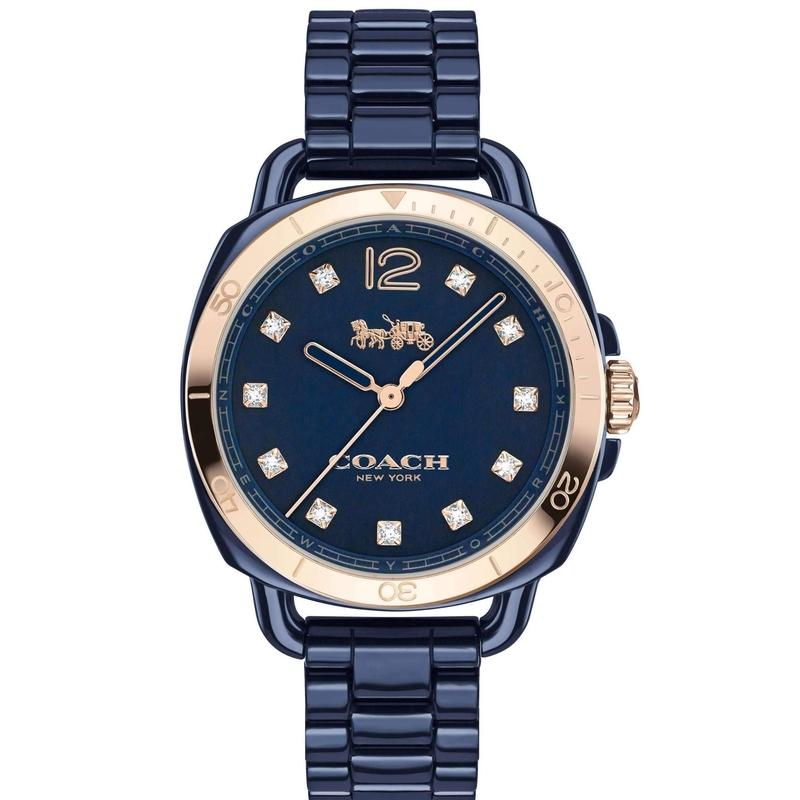 Coach Tatum Ceramic Ladies Watch - 14502753-The Watch Factory Australia