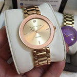 Anne Klein Diamond Rose Gold Bracelet Ladies Watch - AK1362RGRG
