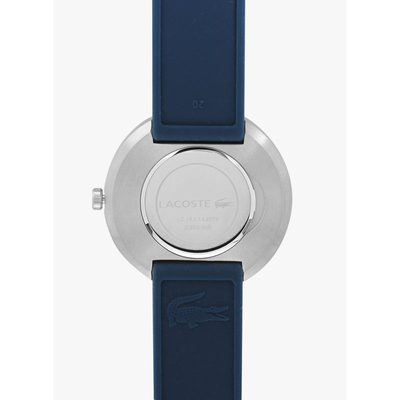 Lacoste The Orbital Men's Navy Silicone Watch - 2010908