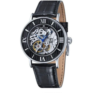 Earnshaw Darwin Automatic Leather Mens Watch - ES-8038-01