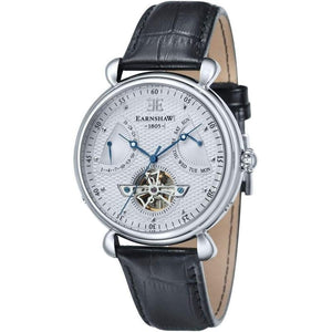 Earnshaw Leather Automatic Watch - ES804602