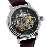 Earnshaw Longcase Men's Automatic Leather Watch - ES-8011-02-The Watch Factory Australia