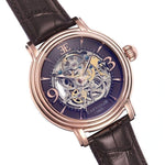 Earnshaw Longcase Men's Automatic Leather Watch - ES-8011-07